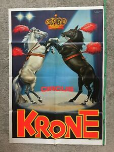 Plakat Circus Krone, Cirque, Zirkus