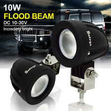 Safego 2x 10W CREE LED Work Light Flood Offroad 4X4 Car Truck ATV Fog Lamps 12V