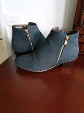 Verali Navy ankle boots size 40 (preowned) In Really good Condition