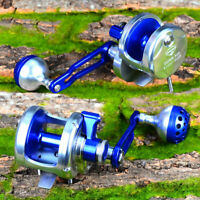 Proberos Jigging Reel Aluminum CNC Machined Fishing Reel Jig Reel Trolling Reel