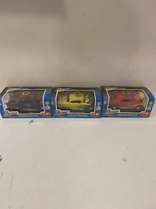 3 Hard Body Muscle Cars Tootsietoy Chevrolet Limited Edition Collector Series