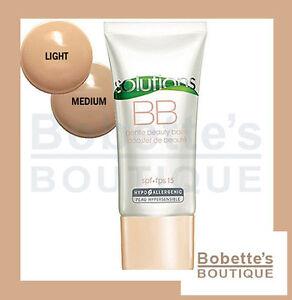 AVON SOLUTIONS BB Crème NUANCE LIGHT Sublime et Protége les Peaux Délicates !