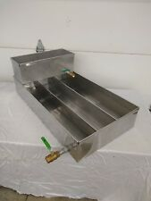 Maple Syrup Pan 18x34x6 w/ dividers, warming pan and valves Stainless evaporator
