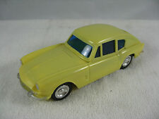 Rare Telsalda Plastic Friction Triumph GT6 Sports Car Made in Hong Kong