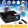 LED 7000 Lumens HD 1080P 3D Home Projector Theater USBHDMI Indoor Outdoor Movie