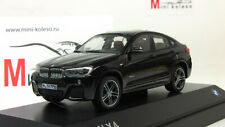 Scale model car 1:43, BMW X4 - black