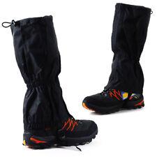 2pcs Waterproof Outdoor Hiking Walking Climbing Hunting Rain Snow Legging Gaiter