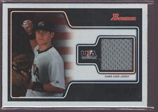 CHRIS OKEY 2010 BOWMAN USA ROOKIE GAME WORN USED JERSEY PATCH RC /949 $15
