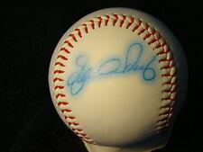 Eduardo Perez St Louis Cardinals Autographed Official League Ball