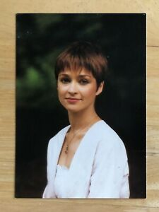 Janet Fielding as Tegan official BBC postcard Doctor Who in excellent condition