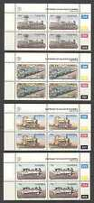 Namibia 1995 Trains/Steam Engines 4v ctl blks (n20131a)