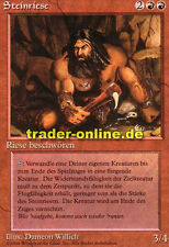 Steinriese (Stone Giant) Magic Limited Black bordered German beta fbb foreign de
