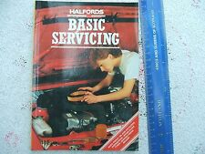 1985 HALFORDS BASIC SERVICING FOR CARS OF 1970's/80's.CAR MANUAL.EXCELLENT.