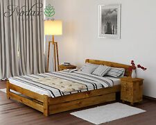 Solid Pine 6ft Super King Bed Frame & Slats**with choice of Underbed Drawer