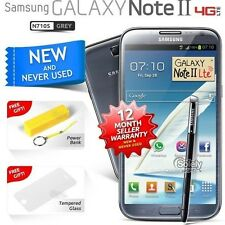 New Sealed Unlocked Samsung Galaxy Note 2 N7105 Grey 4G LTE Android Smartphone