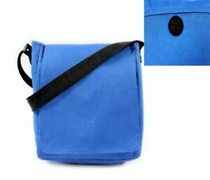 BLUE Multifunctional Bag Mini Cross body Bag with Earphone Hole UK seller unisex