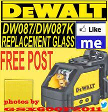 DEWALT DW087/DW087K REPLACEMENT GLASS/SCREEN/LASER LEVEL/REPAIR  FAST FREE POST