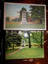 FREDERICKSBURG VA CIVIL WAR STONEWALL JACKSON MONUMENT OLD Postcard MODERN PHOTO