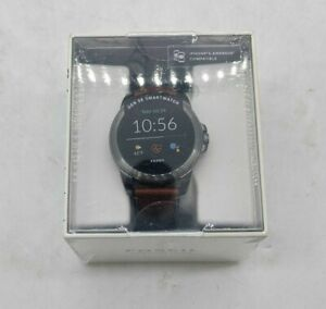 Fossil Gen 5E Smartwatch 44mm FTW4055 WiFi Leather Band for iOS/Android - SH1378