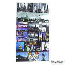 lot of 6 New York City Scene Statue of Liberty NY Souvenir Gift Fridge Magnets