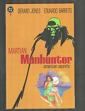 Martian Manhunter #3 ~ American Secrets ~ 1993 (9.2) WH