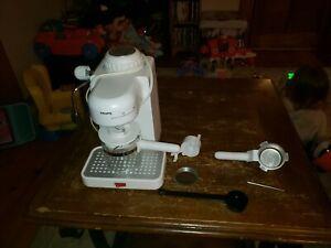 Krups model #963 4-Cup Mini Espresso Cappuccino Maker - white