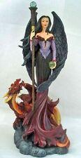 Gothic Fantasy Figur Dark Angel - Commanding The Dragon - Nemesis Now