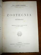 ALESSIO LEMOIGNE ZOOTECNIA GENERALE Torino UTET 1900 illustrato