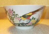 VINTAGE LENOX JAPANESE FINE PORCELAIN BOWL FLOWERS & BIRDS (B19)