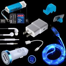 Wall Car Charger OTG LED Cable Stand for ZTE Zmax Pro Blade X Z Max 3 2S Max XL