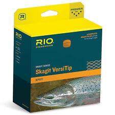 RIO NEW $160 SKAGIT MAX LONG VERSITIP 550-GR SPEY ROD FLY LINE, HEAD +TIPS-SALE!