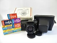 Zenit ET Camera Slr, Lens Helios 44m - 4 M42, (x7 poll) Films 35 mm expired USSR