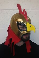 GIRO CHICKEN MEXICAN LUCHA LIBRE LUCHADOR ADULT WRESTLING MASK COCORICO CRAZY