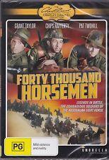 FORTY THOUSAND HORSEMEN -   Grant Taylor, Betty Bryant, Chips Rafferty -  DVD
