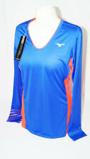 * nuevo * Mizuno premium Aero Long sleeve t-shirt damengr. l tenis Classic azul New