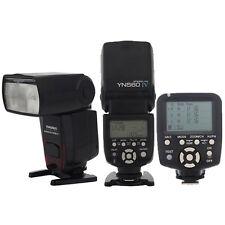 Yongnuo YN560TX LCD Wireless Flash Controller + 2Pcs YN560 IV Flash for Nikon