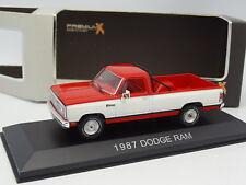 Premium X Résine 1/43 - Dodge RAM Pick UP 1987