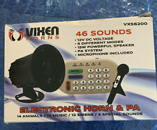 LOUD 46 SOUNDS ANIMAL/MUSIC/SIREN/EFFECT/PA SYSTEM ELECTRONIC HORN CAR TRUCK 12V