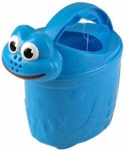 Childrens Frog Watering Can Blue Beach Toys Activity Children Kids Garden Toy