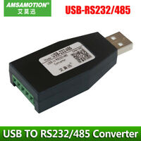 USB TO 232/485 Serial Communication module Industrial Grade Convert RS232/RS485