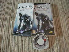 PSP ASSASSIN´S CREED BLOODLINES CREDO DE ASESINOS SONY PSP USADO EN BUEN ESTADO