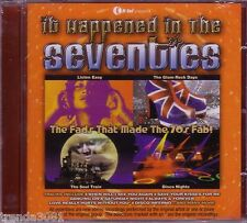 It Happened In Seventies CD Classic 70s Rock NEW SEEKERS BAY CITY ROLLERS NEW