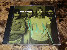 The Doors Rare Signed 1 Track Promo Cd She Smells So Nice John Densmore + Photo