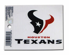 New Window Static Cling Houston Texans NFL Football Licensed Fan League Sports