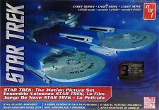 STAR TREK: THE MOTION PICTURE - RELIANT, ENTERPRISE & KLINGON BATTLECRUISER