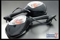 SUZUKI GSXR GSX-R 1000 CARBON BLINKER MIRRORS 2005 2006 2007 2008 K5 K6 K7 K8