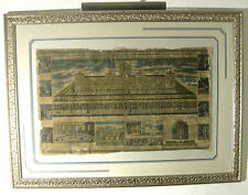 """Antique Print:  Gerhard Schott   """"The Temple of Solomon -  c. 1723"""