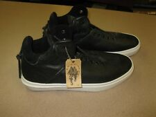 Clear Weather Mens The One-Ten Leather Shoes Black 11.5 New