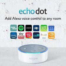 Amazon Echo Dot 2nd Generation - WHITE Alexa Voice Control Personal Assistant