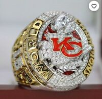 Kansas city chiefs Champions ring 2020 NFL Gift KC chifs Jersey NFL Collection